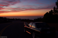 Diamantschwarz E30 M3 at Sunset