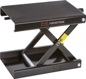 RAGE Powersports Black Widow Motorcycle Scissor Jack