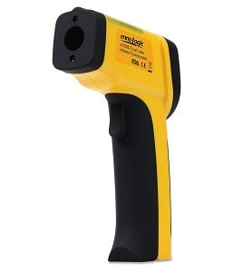 Click here to see examples of infrared thermometers.
