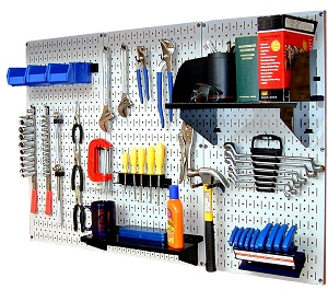 Tool Storage: The Best Pegboards and Hook Sets