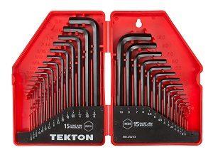 tekton hex key set
