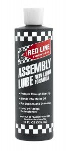 redline engine assembly lube