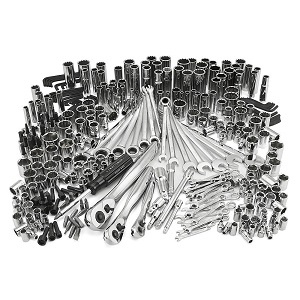 Click here to see examples of mechanic's tool sets.
