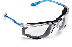 Click here to view examples of safety glasses.