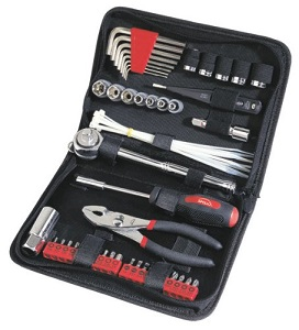 Click here to see examples of roadside tool kits.