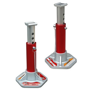 Click here to see examples of aluminum and steel jack stands.