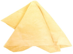 Click here to see examples of leather chamois.