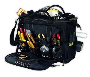 leathercraft 50 pocket tool bag