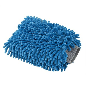 Click here to see examples of microfiber wash mitts.