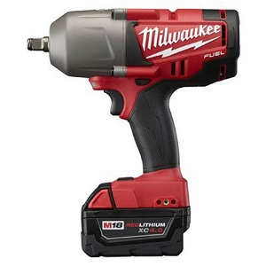 Click here to see examples of battery powered impact wrenches.