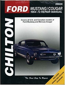Click here to see examples of Chilton Car Repair Manuals.
