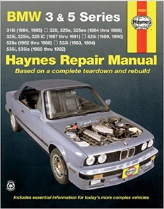 Click here to see examples of Haynes Car Repair Manuals.